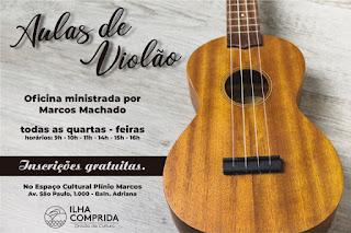 Cultura da Ilha abre inscrições para aula de violão