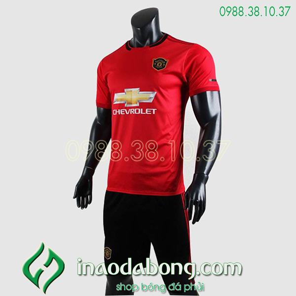 Áo bóng đá câu lạc bộ MU màu đỏ 2020