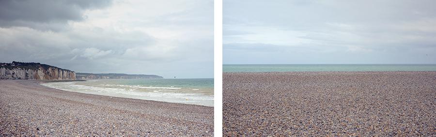 Strand Dieppe Normandie