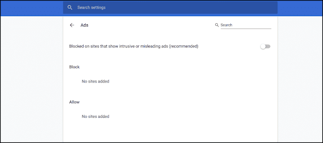 Click Block On Sites