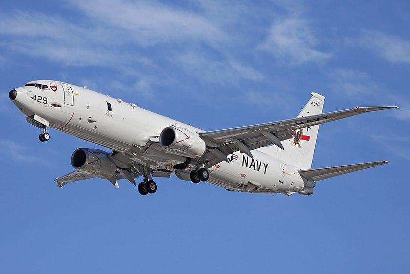 """طائرة بوينج بيه-8 بوسيدون """"P-8A Aircraft"""""""