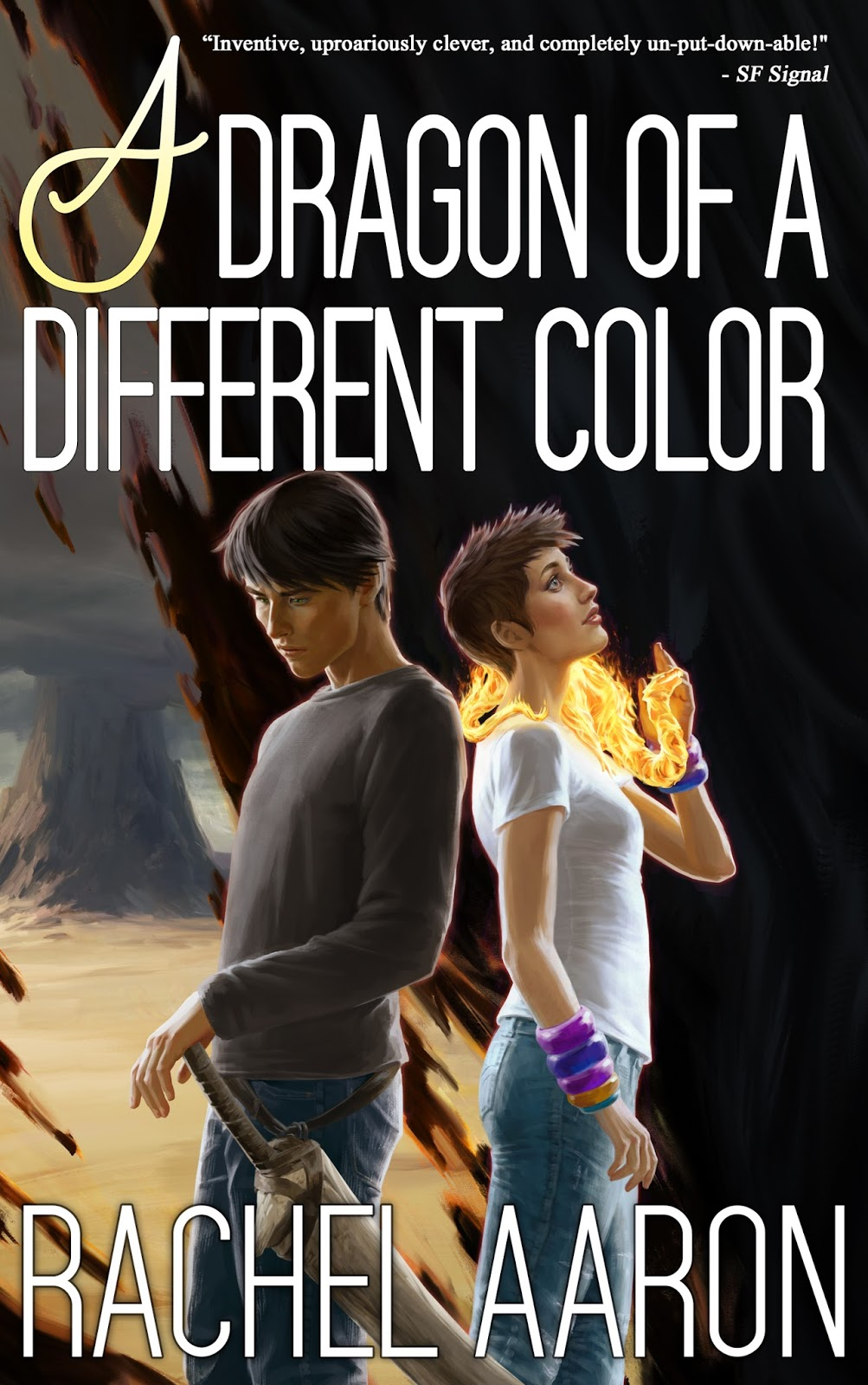 "Click Here To Order ""A Dragon Of A Different Color"" by Rachel Aaron!!!"