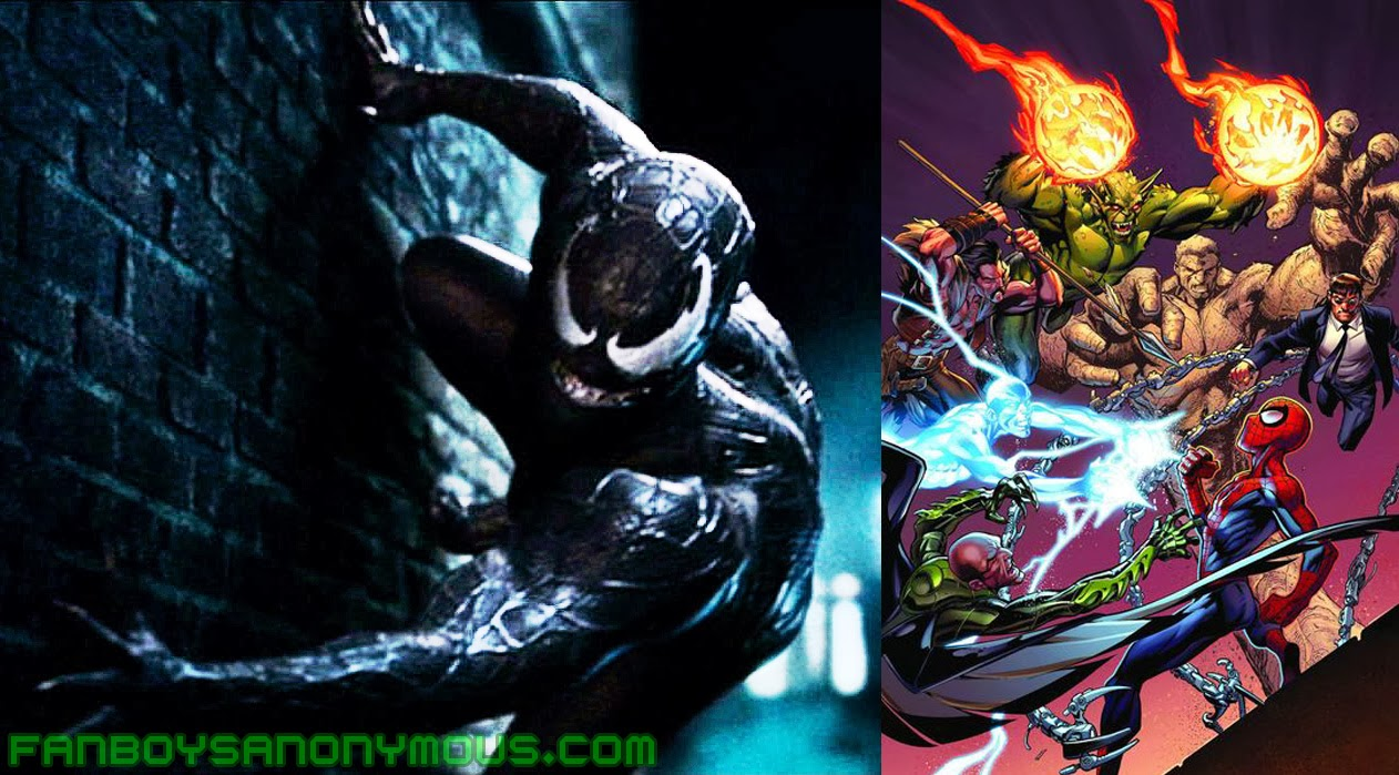 venom and the sinister six spin-off films officially announced