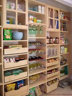 cucina organizzata immagine