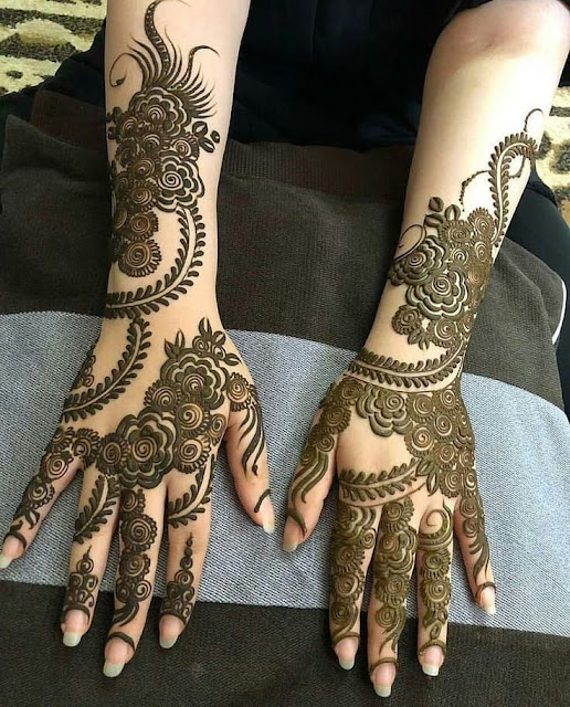khafif mehndi designs new