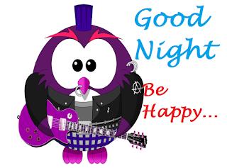 good night birds animation