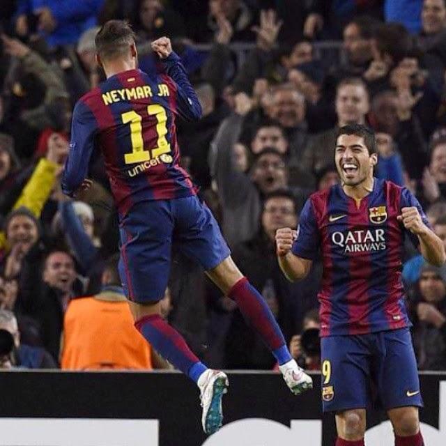 Fc Barcelona vs PSG UCL 2014-2015 ~ Fc Barcelona Photo