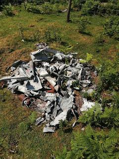 Air Crash Site Old Cote Moor Yorkshire Dales