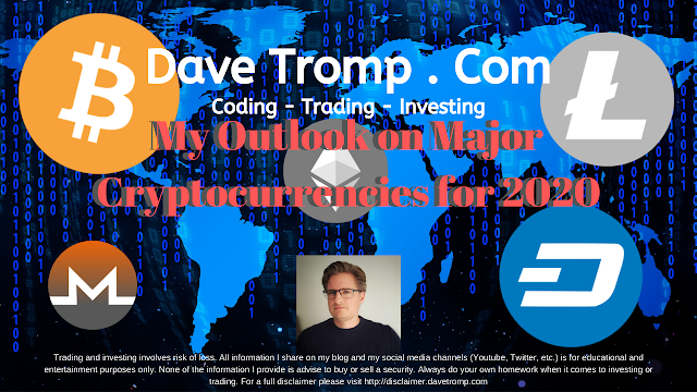 My Outlook on Major Cryptocurrencies For 2020