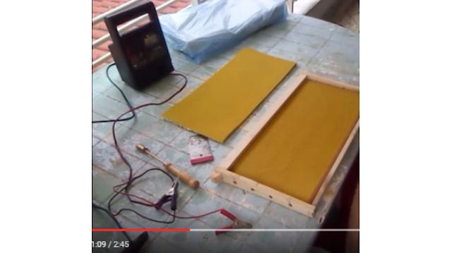 Κέρωμα πλαισίων με φορτιστή μπαταρίας VIDEO