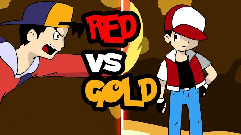 Ash vs Gold Animação Pedro Araújo