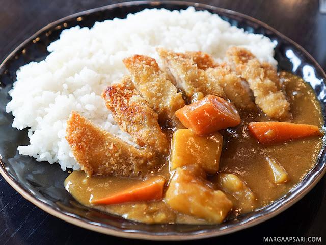Chicken Katsu Curry Rice Sushi Nobu (Shabu Nobu)