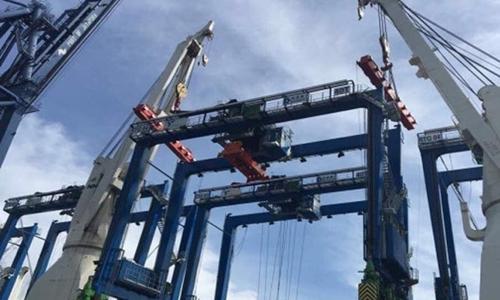 Ngeri! Ini Kondisi Korban Kejatuhan Crane Proyek Jalur Ganda