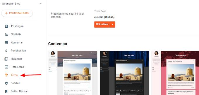 Cara Menampilkan Widget Blog di Mobile