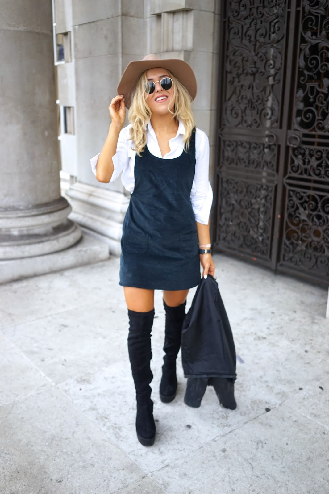 pinafore dress motel
