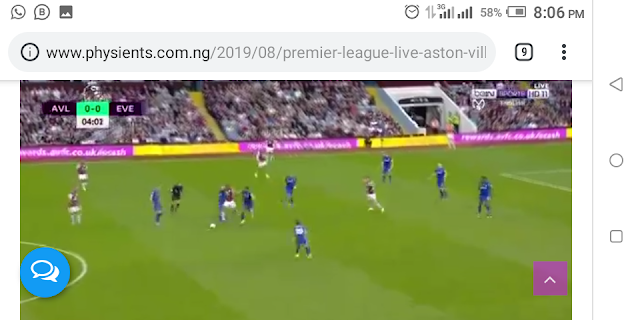 Premier League: Live Aston-Villa Vs Everton