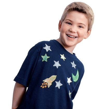 Glow-in-the-Dark Space Shirt