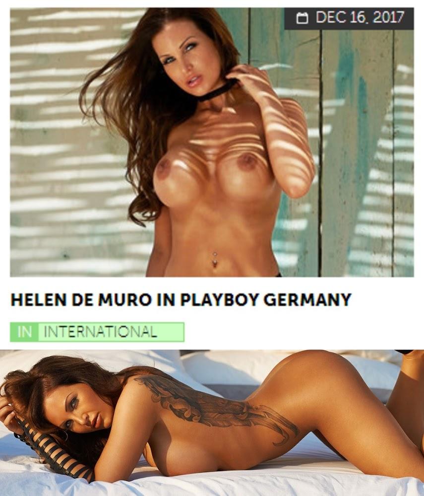 Playboy PlayboyPlus2017-12-16 Helen de Muro in Playboy Germany - idols
