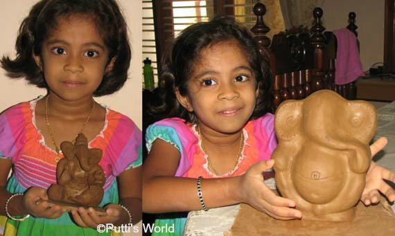 DIY Ganesha Idol