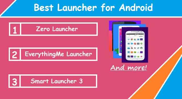 10 Aplikasi Launcher Keren,Ringan dan Terbaik di Android