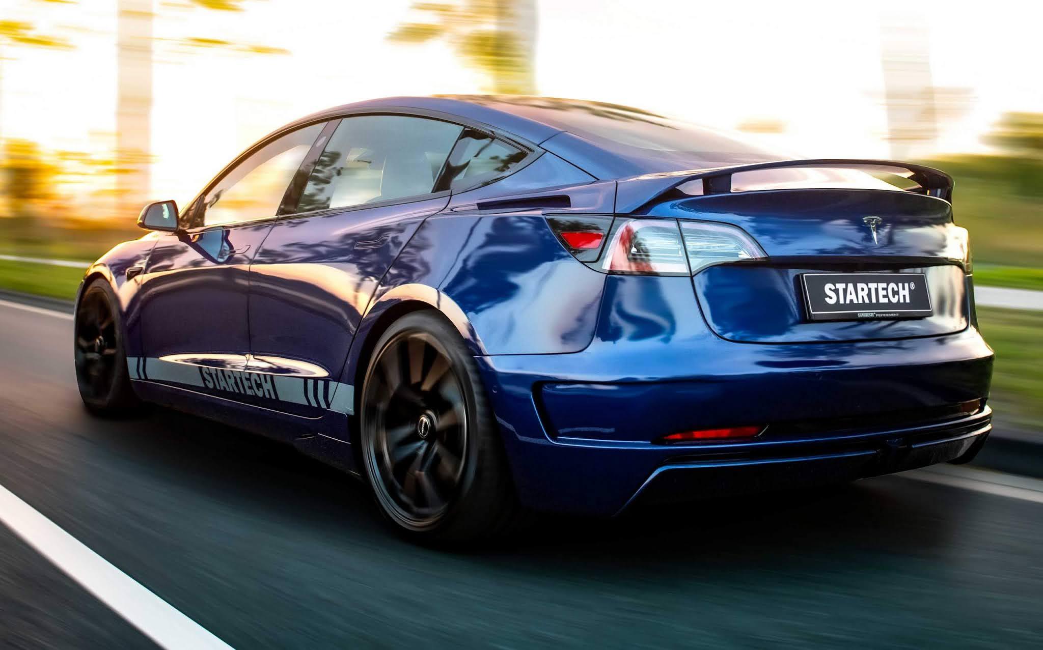 Tesla Model 3 personalizado pela Brabus americana - fotos ...