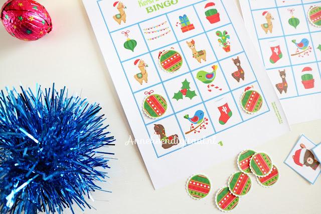 Kerst bingo printable kopen, kerst sple, spellen printable, Annekoendigitaal, feestelijke printables, lama bingo, lama spel, lama printable, kerst lama maken, bingo spel maken, bingo zelf printen