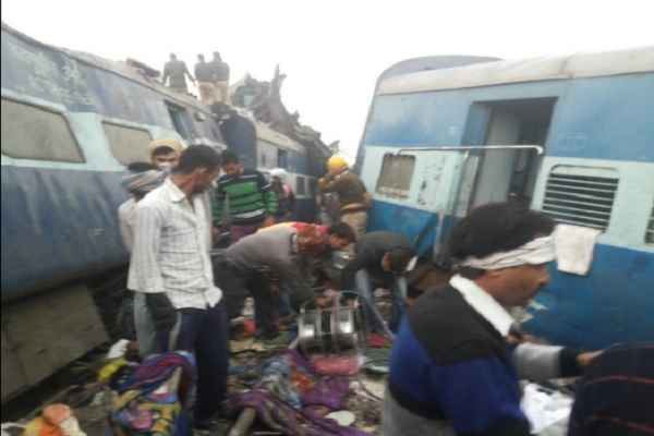 Indre-Patna Express Derail, More than 100 dead