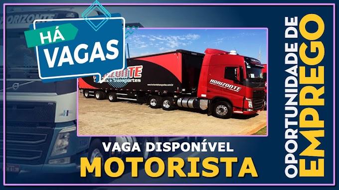 Transportadora Horizonte abre vagas para Mulheres Carreteira