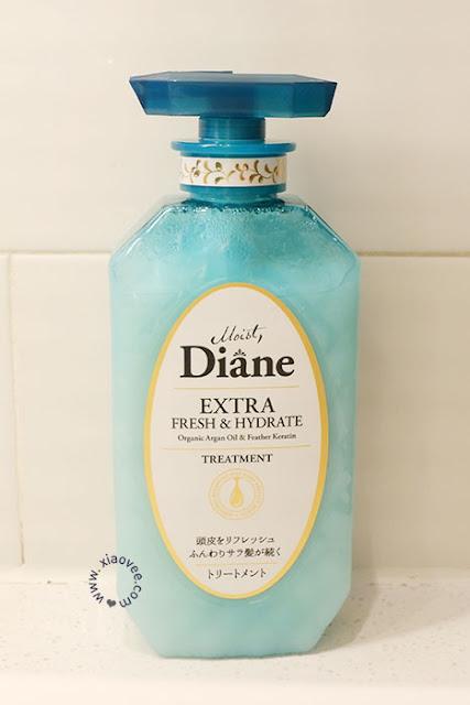 Moist Diane Extra Fresh & Hydrate Shampoo, Moist Diane Extra Fresh & Hydrate Treatment, Japanese Shampoo Review, Moist Diane Review, Moist Diane Japan Shampoo
