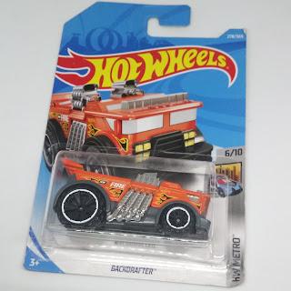 Hot Wheels - Backdrafter