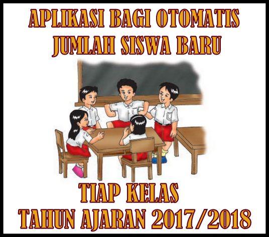 Aplikasi Bagi Otomatis Jumlah Siswa Baru Tiap Kelas Tahun Ajaran 2017/2018