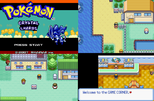 Pokemon Crystal Shards GBA ROM Download