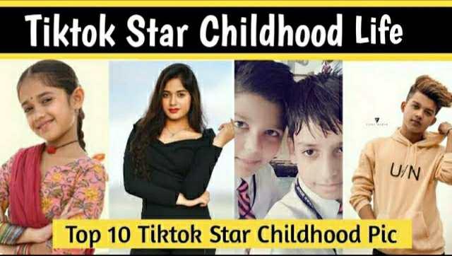 Top 10 Tiktok Star Childhood Photo | Riyaz Aly Childhood Pic