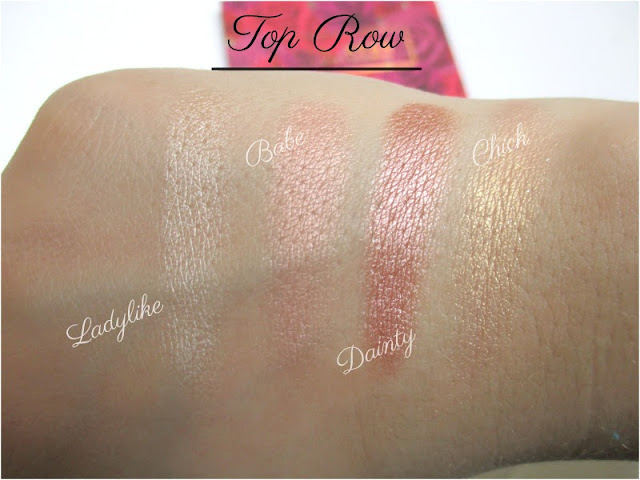 Karrueche X Colourpop Fem Rosa 'She' Eyeshadow Palette - Swatches