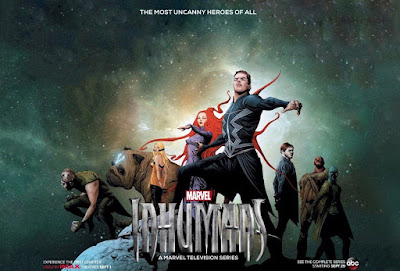 San Diego Comic-Con 2017 Exclusive Inhumans Television Show Concept Art Movie Poster by Jae Lee x Marvel