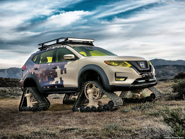 2017 Nissan Rogue Trail Warrior Project Concept - #Nissan #Rogue #Trail #Warrior #Project Concept_car #suv
