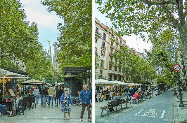 Avenida Gaudí, Barcelona