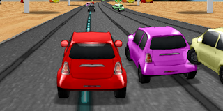 لعبة سباق السيارات