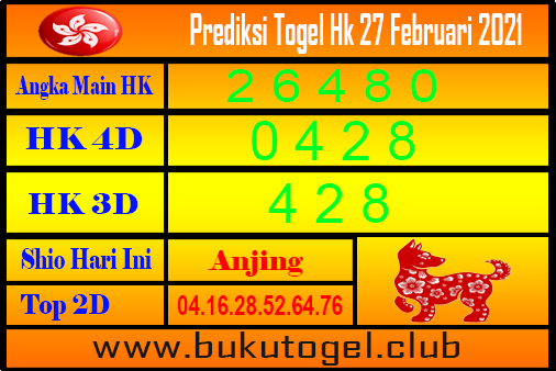 Hk Forecast 27 Februari 2021
