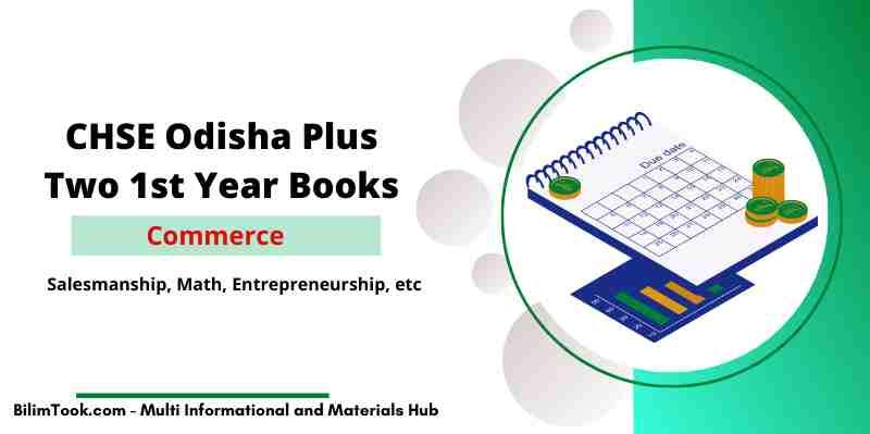 CHSE Odisha Plus Two Accountancy Book PDF - +2 1st year Commerce