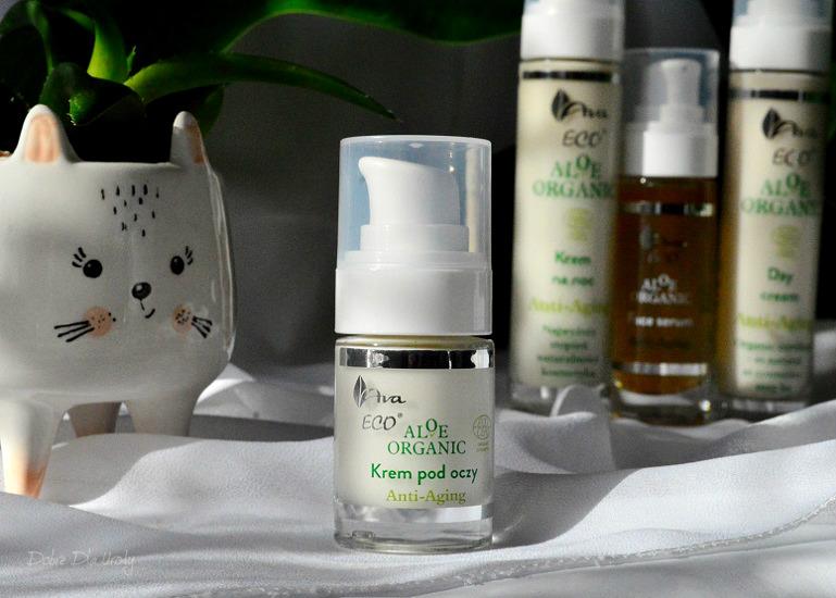 Aloe Organic - Aloesowy Krem pod oczy anti-aging