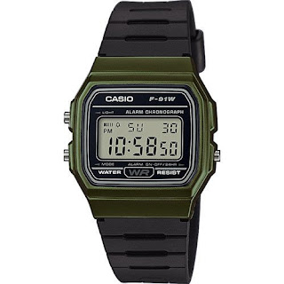 Casio F91WM-3A