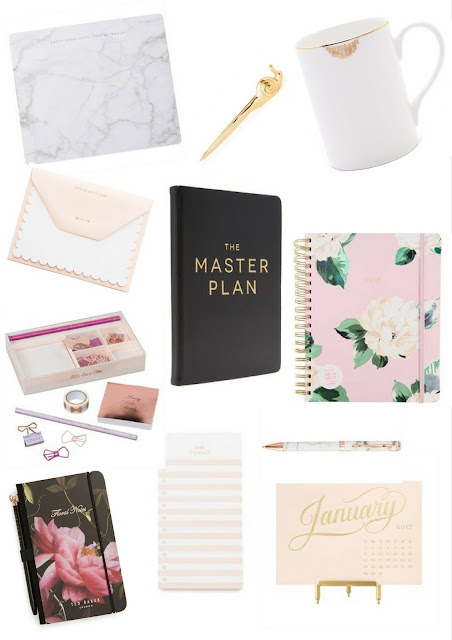 Get Organized For 2017 | Stationery Essentials For The Girl Boss In The Office Or On The Go! | labellesirene.ca