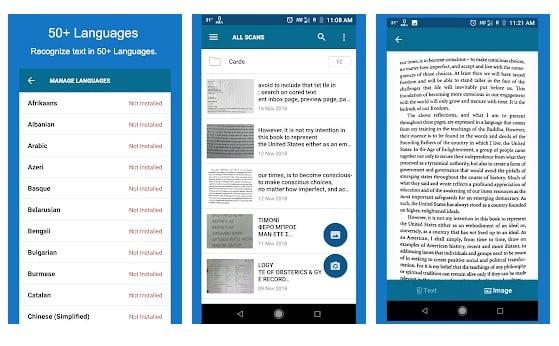 OCR Text Scanner