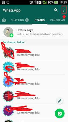 cara agar status di whatsapp tidak bisa dilihat teman