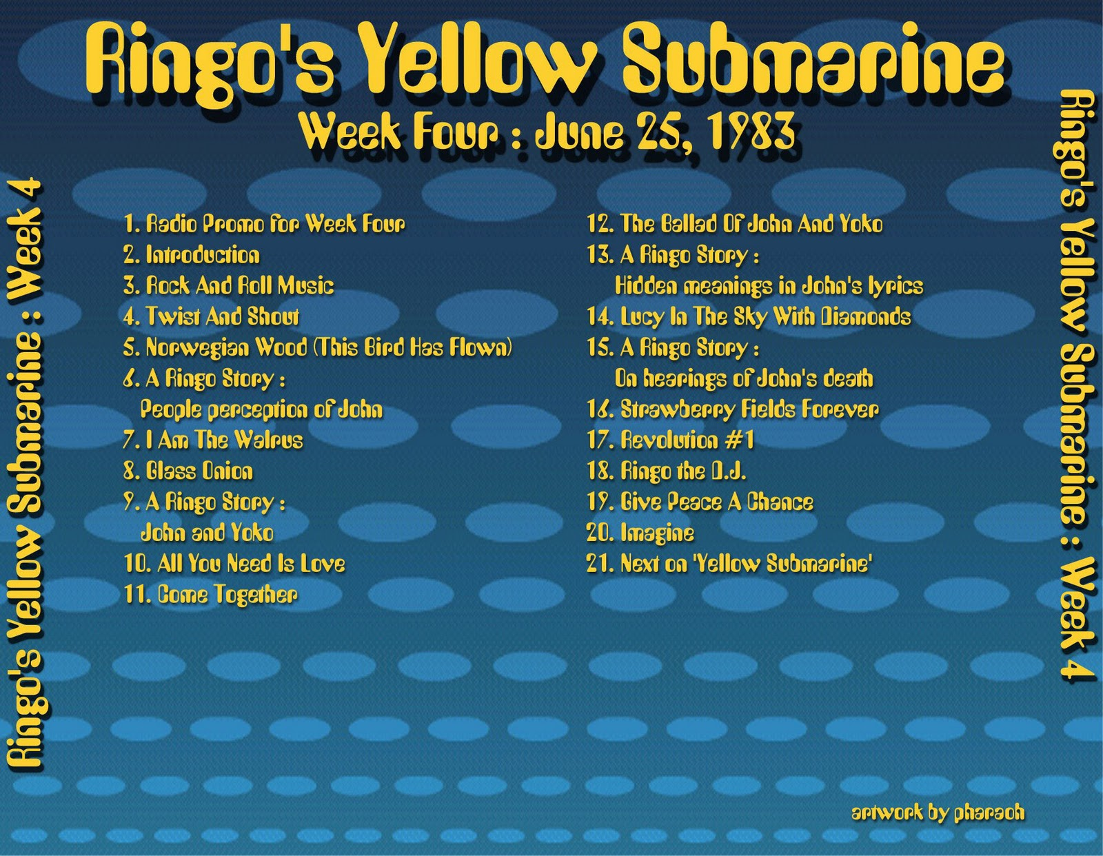 Beatles Radio Waves: 1983 06 25 - Ringo's Yellow Submarine 04