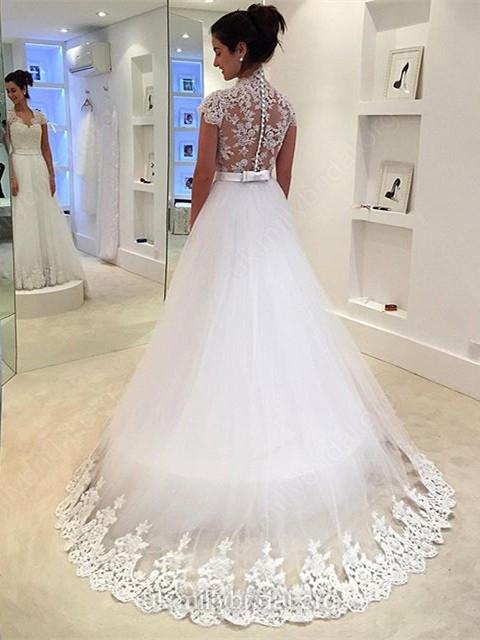 http://uk.millybridal.org/product/tulle-v-neck-princess-sweep-train-with-sashes-ribbons-wedding-dresses-ukm00022982-20664.html