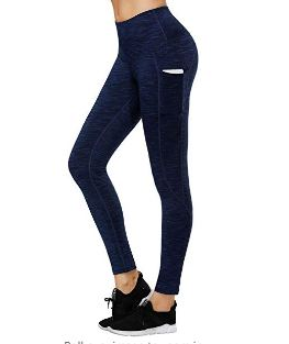 LifeSky High Waist Yoga Pants, Workout Leggings for Women with Pockets