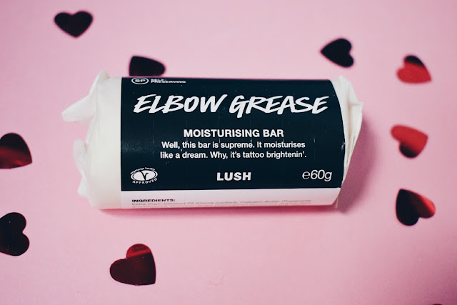 lush elbow grease