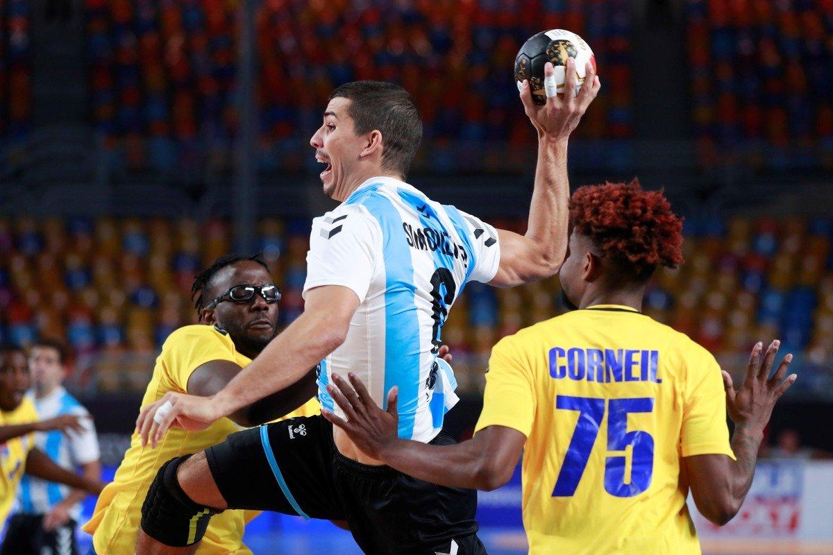 Argentina reacciona a tiempo y vence a Congo en el debut del Mundial de Egipto